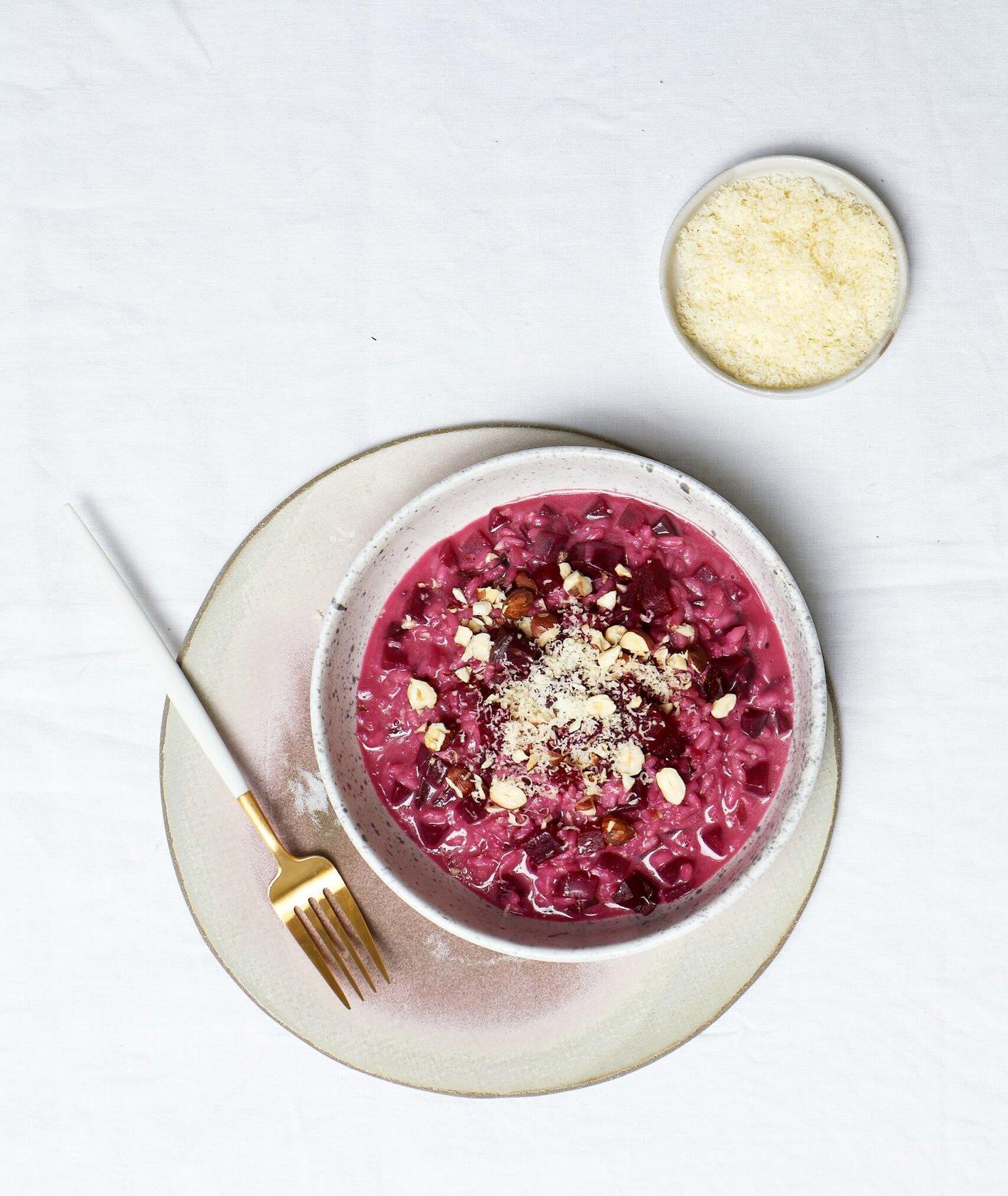 risotto z burakami, risotto, idealne risotto, jak zrobić risotto