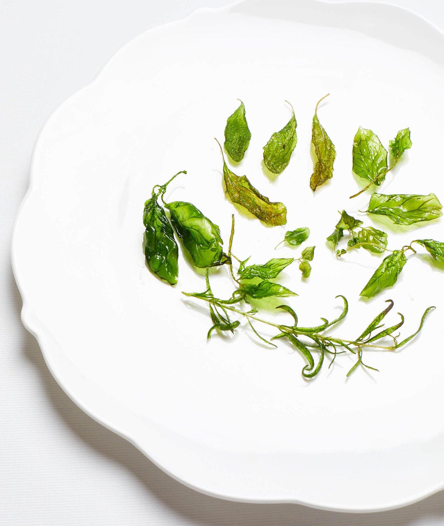 smażone zioła