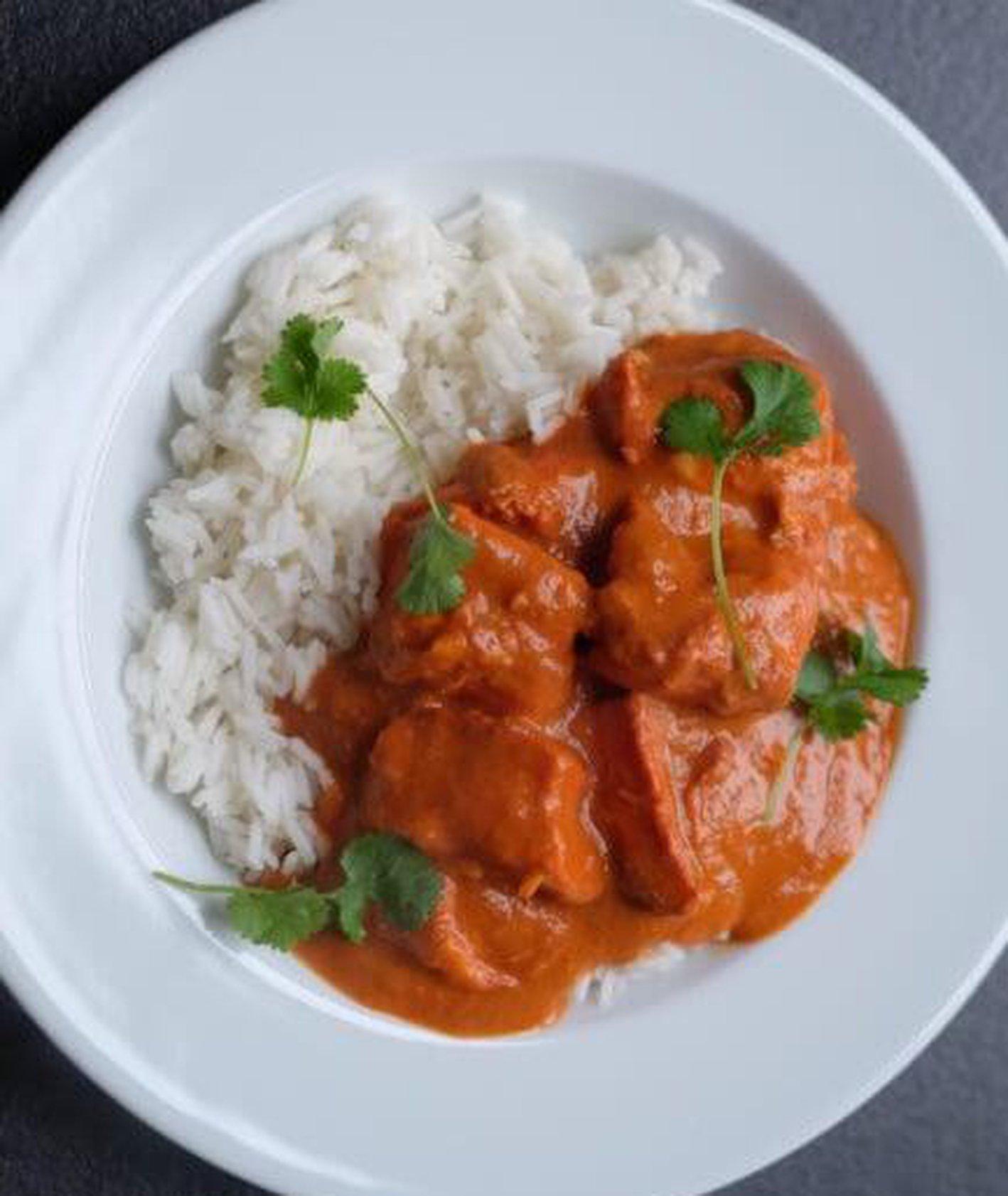 chicken butter, kuchnia indyjska