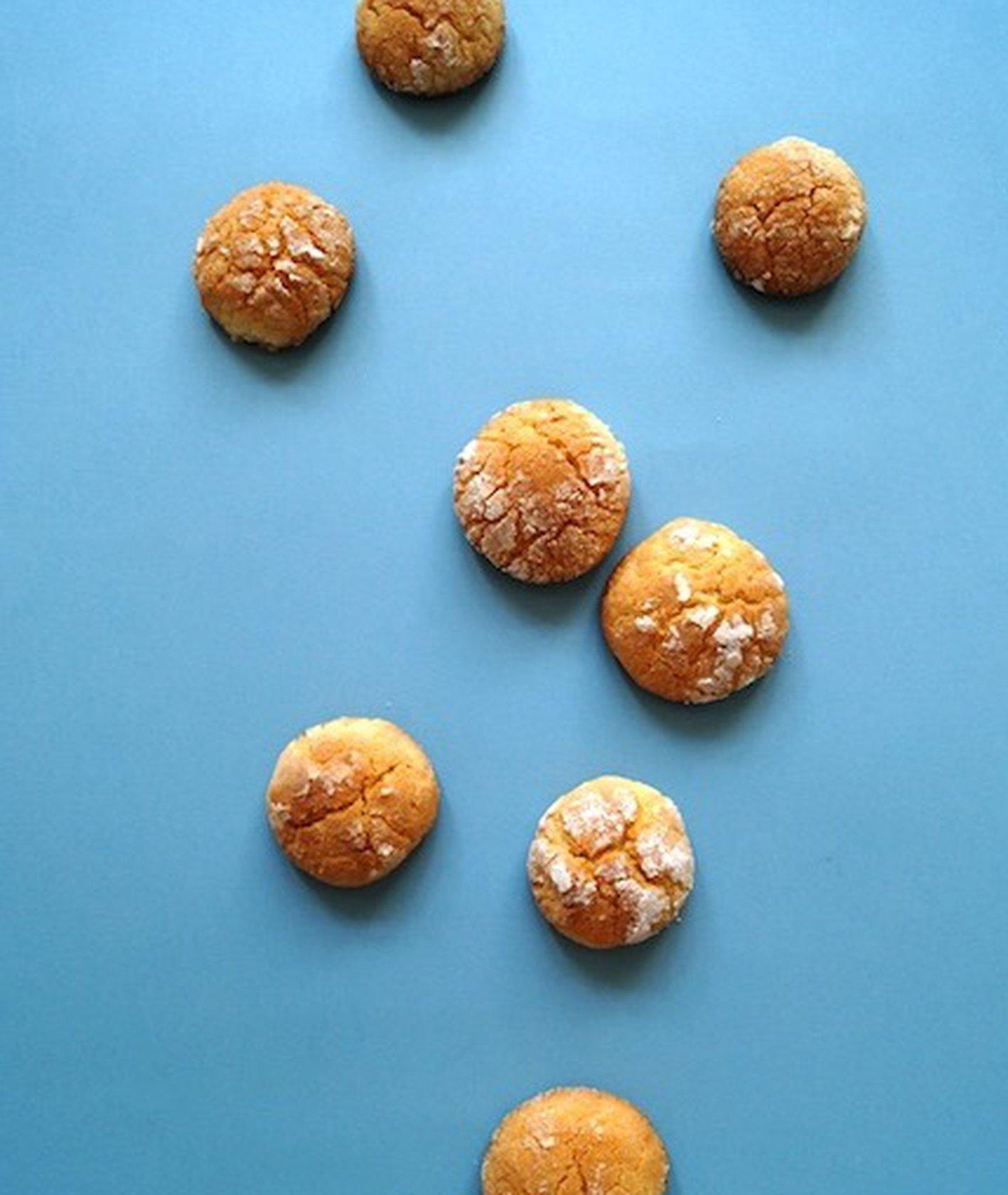 biscotti, ciasteczka cytrynowe, Krakowski Makaroniarz