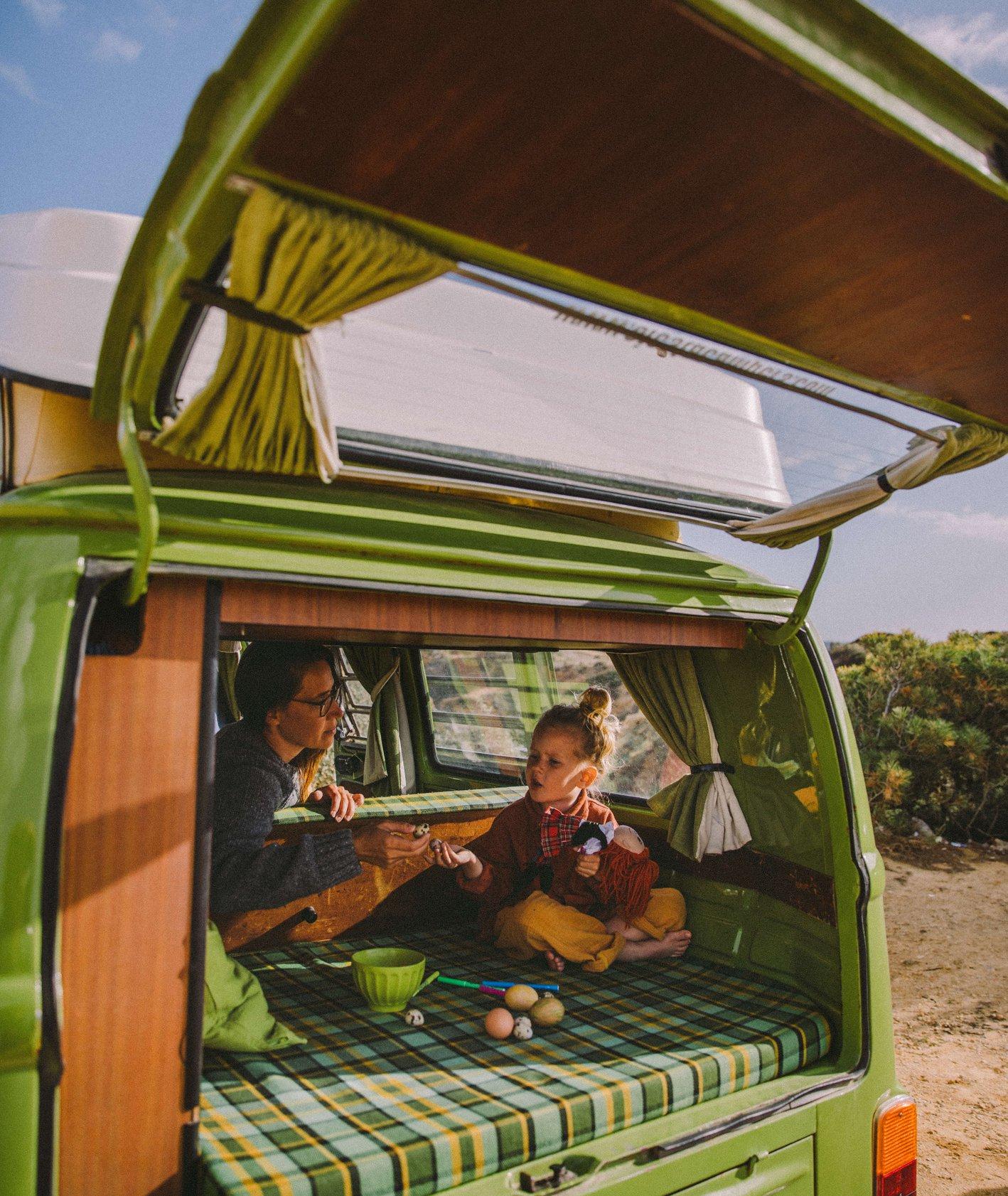 whatforbreakfast, inspiracje wielkanocne, camper, portugalia