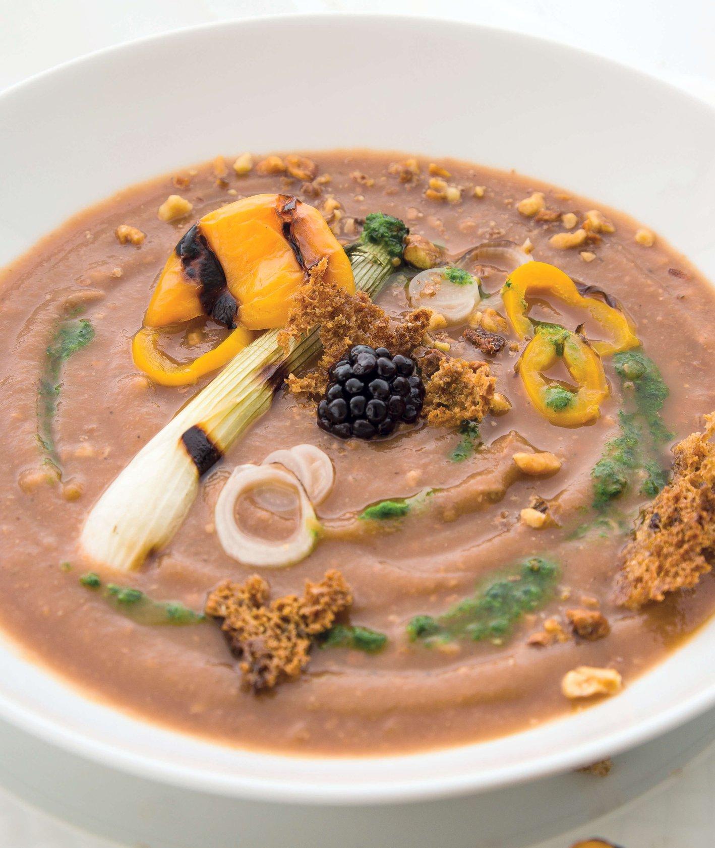 zupa idealna na upały - chłdnik w stylu bałkańskim