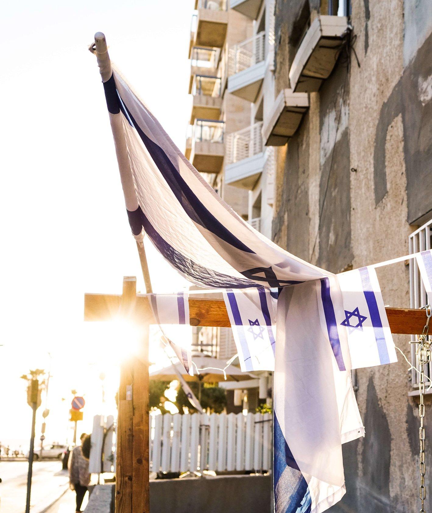 Budynek przy plaży w Tel Awiwie