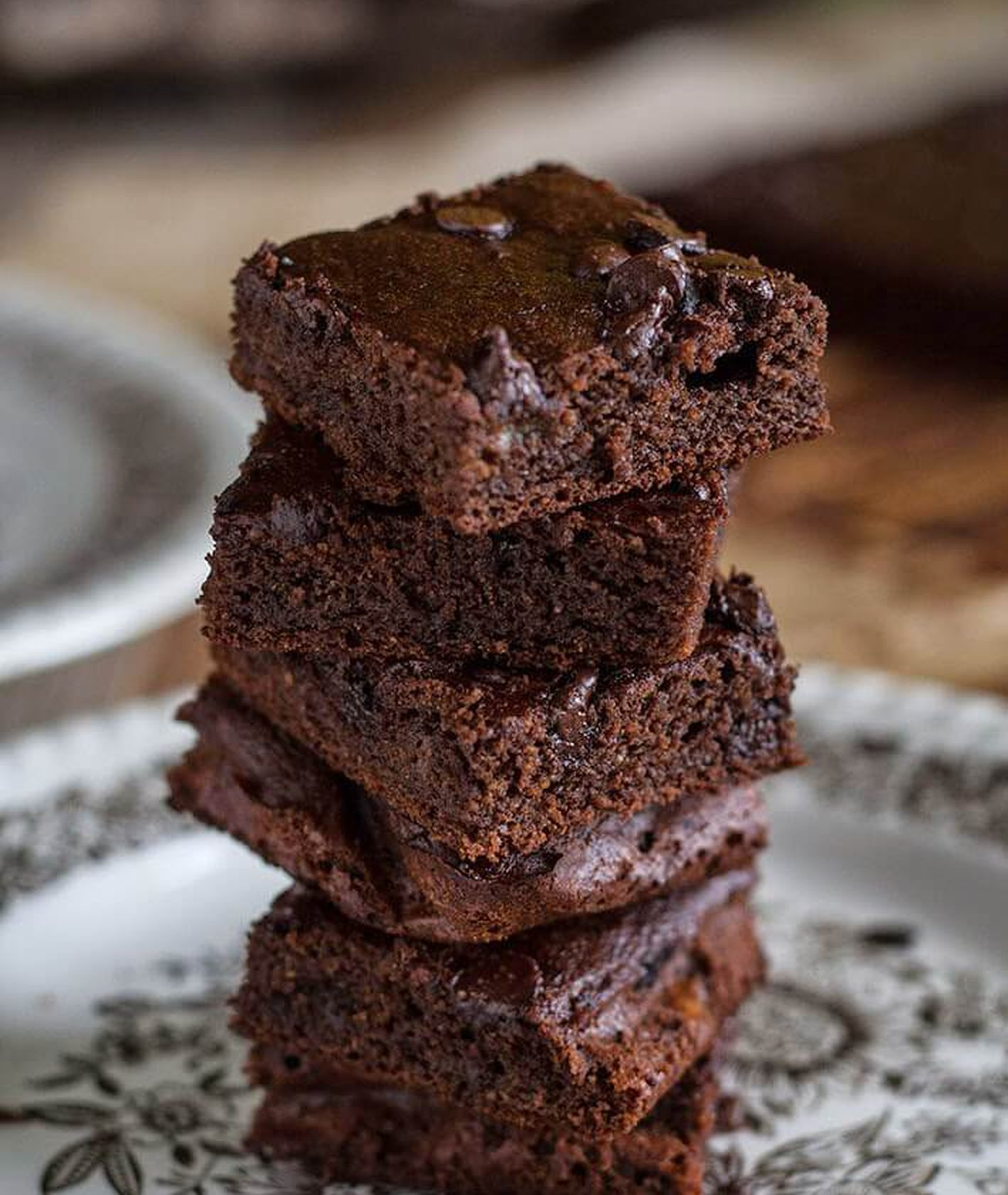 wegańskie bezglutenowe ciasto czekoladowe Alicja Rokicka Wegan nerd