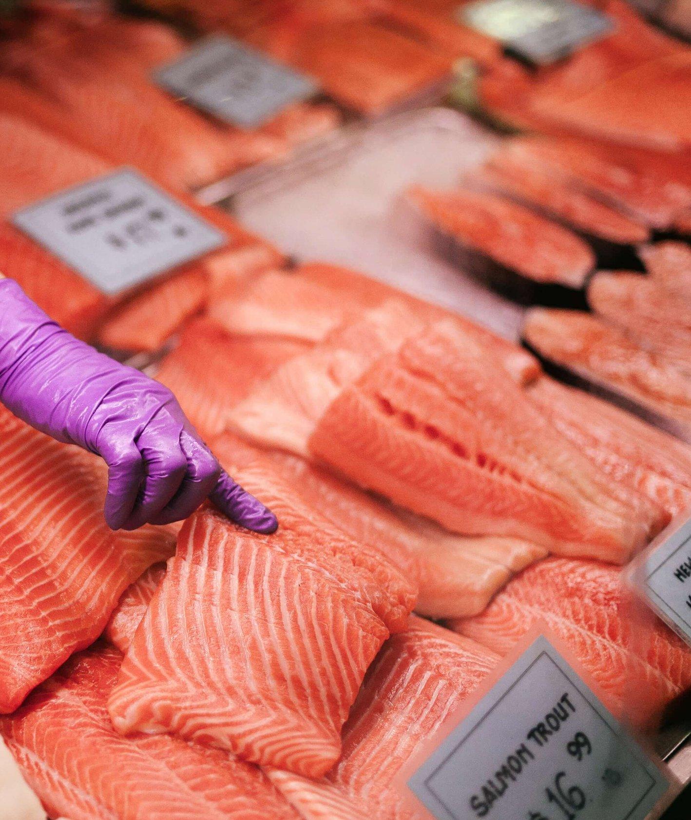 Targ rybny,. Łosoś (fot. colin-czerwinski)