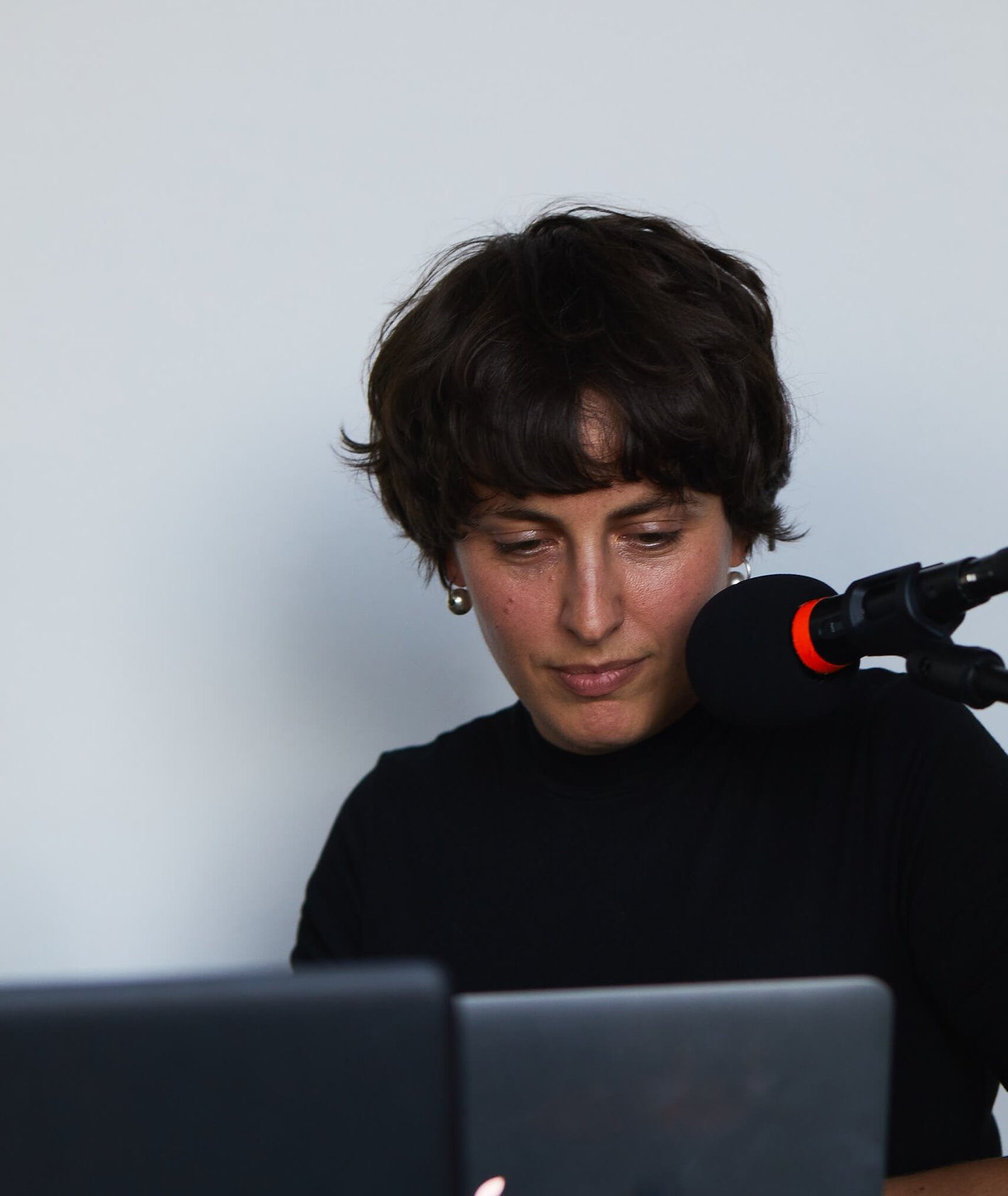Zofia Janina Borysiewicz prowadzi audycję w MSN w Warszawie