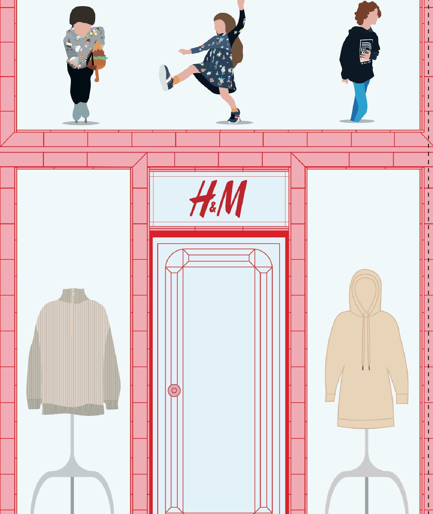 magazyn KUKBUK dzieciaki i H&M