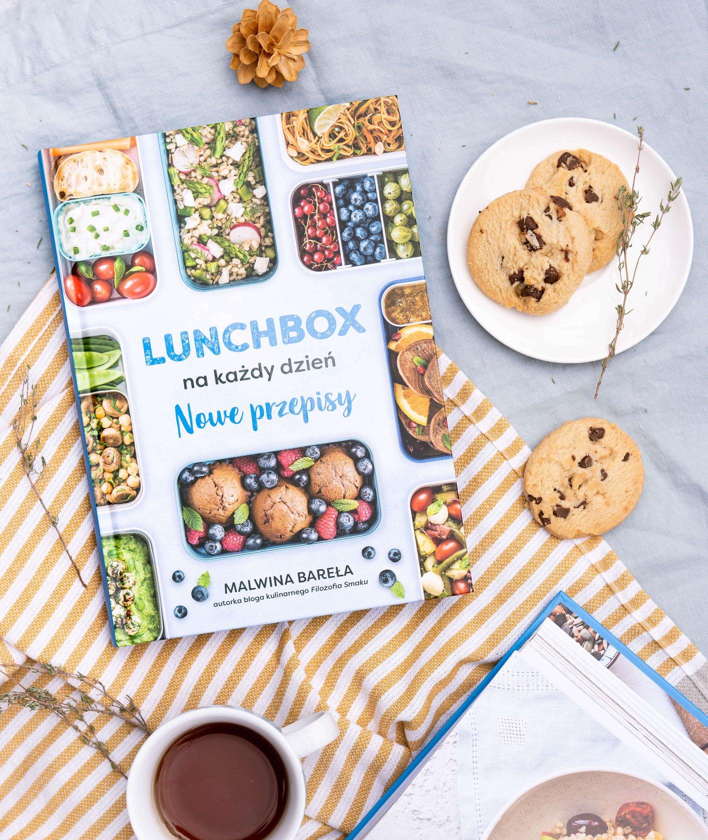 """Okładka książki """"Lunchboxy na każdy dzień"""" (fot. Martyna Cybuch)"""