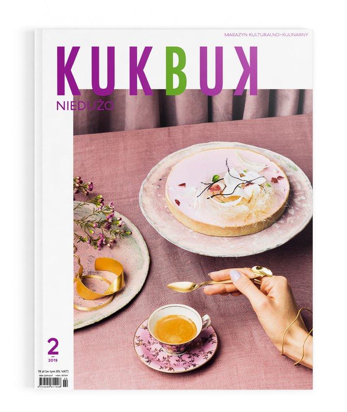Okładka magazynu - KUKBUK 2 (38/2019) NIEDUŻO