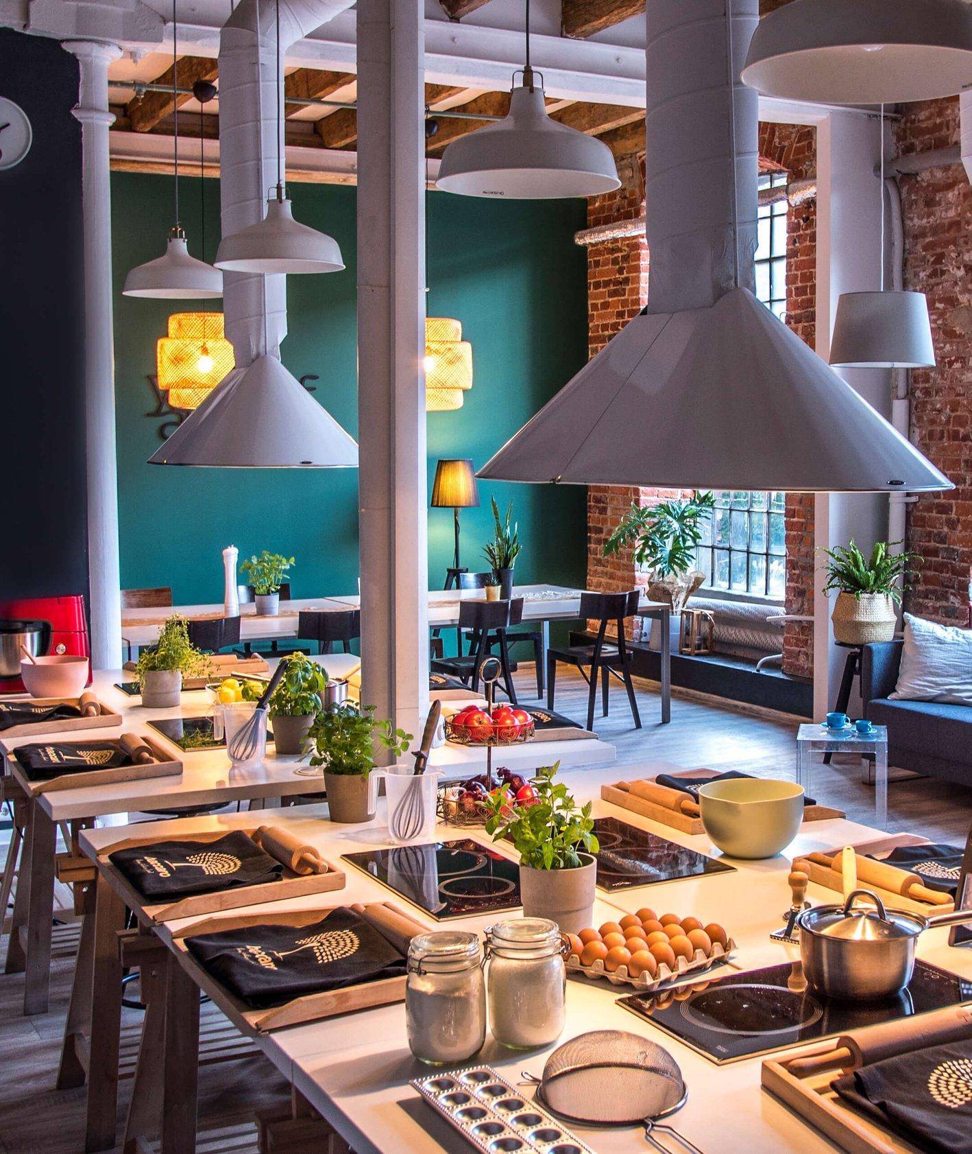 Wnętrze studia kulinarnego Baccaro (fot.materiały prasowe)