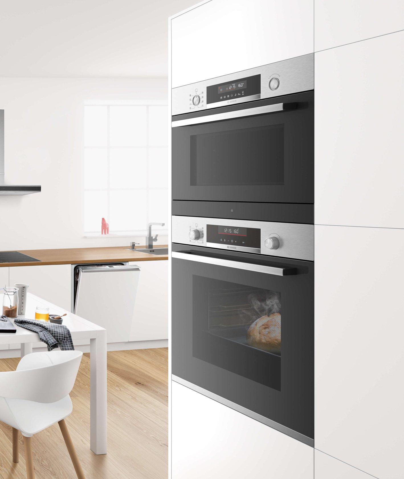 Piekarnik Bosch HRA3380S1 w kuchni (fot. materiały prasowe)