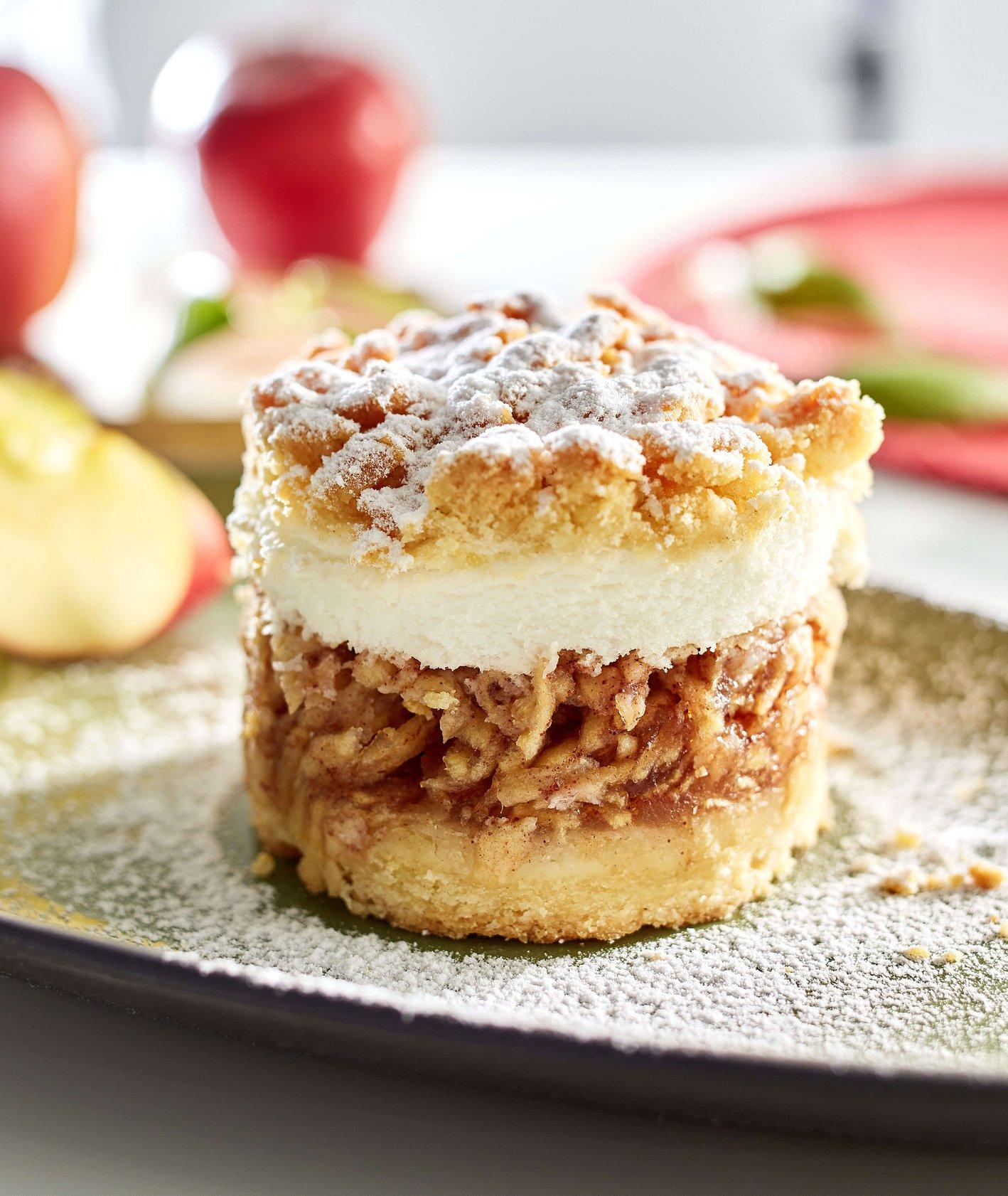 MAKRO – Kultowe smaki: jabłka pod kruszonką (fot. materiały prasowe)