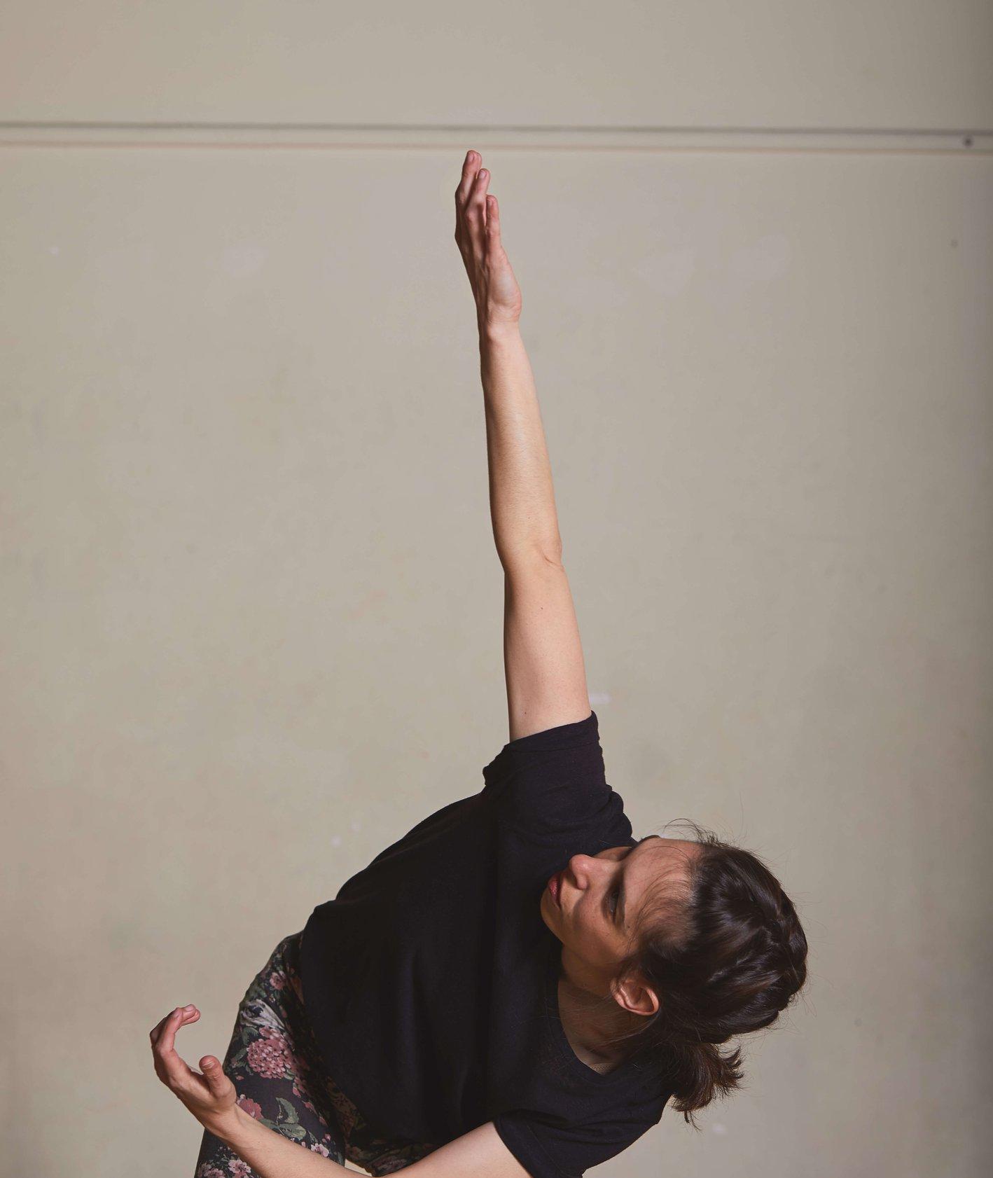 Gaga dance – trening (fot. Maciek Niemojewski)