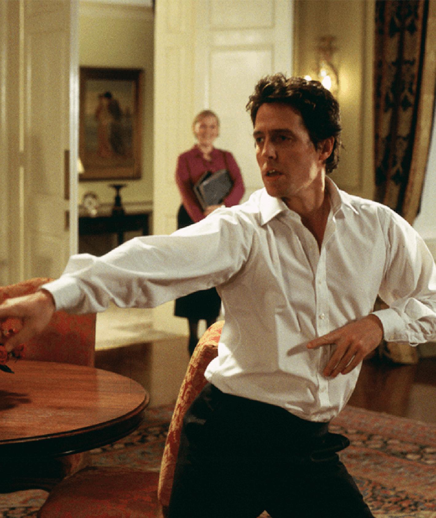 """Hugh Grant w """"To właśnie miłość"""" – co oglądać na święta? (fot. materiały prasowe)"""